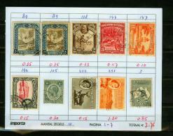 Britsh Colonies,10V,small Restlot  See Scan(UBEG1-7) - Groot-Brittannië (oude Kolonies En Protectoraten)