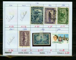 Britsh Colonies,6V,small Restlot  See Scan(UBEG1-5) - Groot-Brittannië (oude Kolonies En Protectoraten)