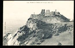 74 FAUCIGNY / Ruines Du Château / - Faucigny