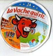 """Etiquette De Boite De Fromage """"la Vache Qui Rit"""" ( 24 Portions) - Fromage"""