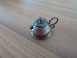 Bouilloire Miniature Cuivre (diam 30mm, H : 25mm) Avec Couvercle (voir Scan) - Mobilier