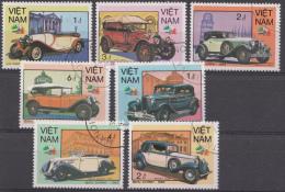 VIETNAM MI.NR.1618-1624 OLDTIMERS  USED / GEBRUIKT / OBLITERE 1985 - Viêt-Nam