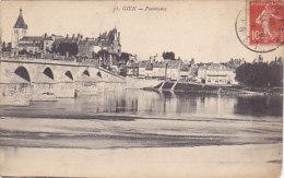 45 - Gien - Panorama (pont) - Gien