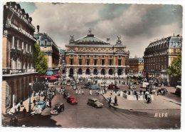CP, 75, PARIS, La Place De L'Opéra, Vierge - Squares