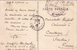 ALGERIE - SETIF LE 4-9-1940 - 11e REGIMENT DE TIRAILLEURS * LE VAGUEMESTRE - CARTE POSTALE RUINE ROMAINE. - Guerra D'Algeria