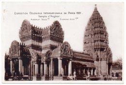 CP, 75, PARIS, Exposition Coloniale Internationale De Paris 1931, Temple D'Angkor, Vierge - Mostre