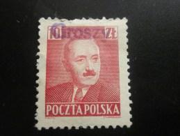 Pologne Polska Surchargé GORSZY(neuf Sans Gomme)la Surcharge C'est Groszy - Reforme Monetaire De 1950 (le Zloty A été Di - 1919-1939 Republik