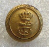 WW1 - AUSTRO-HUNGARIAN NAVY Small Button ( By Radonic Dubrovnik ) KuK Austria-Hungary Bouton Marine Kriegsmarine Marina - 1914-18