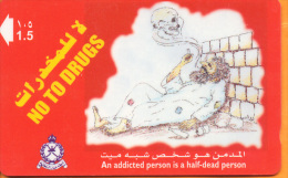 Oman - OMN-G-48M, An Addicted Person, 4/00, Used As Scan - Oman