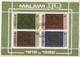 Malawi 1969 ILO MS Used - Malawi (1964-...)