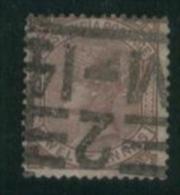 INDIA 1876 12a Venetian Red QV SG 82 U EE58 - India (...-1947)