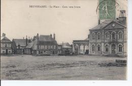 Brunehamel La Place Coin Vers Iviers - Autres Communes