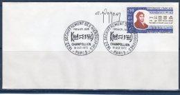 "1972 : Enveloppe 1er Jour SIGNEE : "" CHAMPOLLION "" N° YT 1734 + Prix Dégressif !"
