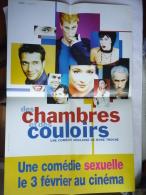 LOT de 2 petites Affiches Le sexe �a se passe dans les chambres �a se d�cide dans les couloirs