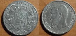 1873 - Belgique - 5 Francs Léopold II (fausse Pièce) - 1865-1909: Leopold II