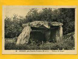 D 184 DENEZE Près Doue-la-Fontaine Dolmen De Saugré - Doue La Fontaine