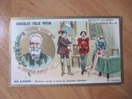 DD  CHROMO CHROMOS CHOCOLAT FELIX POTIN VICTOR HUGO LUCRECE BORGIA  ANIMEE - Chocolade