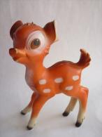POUET DISNEY - BAMBI orange clair - Delacoste 1970