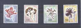 """Feroé Island 288/91**  (MNH)  """"Algues"""" - Végétaux"""
