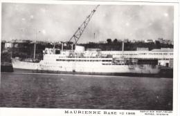 Bateau Marine Nationale Militaire A 637 Maurienne Base 10-1965   Marius Bar Equipage - Guerre