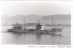 Bateau Marine Nationale Militaire A 638 Sahel Citerne 15-4-1970  Marius Bar Equipage - Guerre