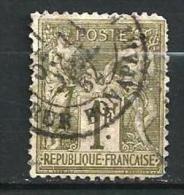 "YT 72 "" Sage Type I  1F.  Bronze "" 1876-78 Rue Bonaparte - 1876-1878 Sage (Type I)"
