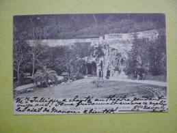 Le Jardin De La Fontaine. La Grotte. - Nîmes