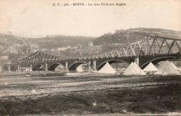 ROUEN  Les Deux Ponts Aux Anglais - Rouen