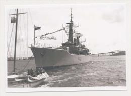 AK06 Shipping Photograph - HMNZS Canterburry - Boats