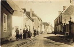 SARTHE 72.SAINT REMY REMI DU PLAIN DU VAL CENTRE  BOURG  RUE PRINCIPALE CARTE PHOTO - France