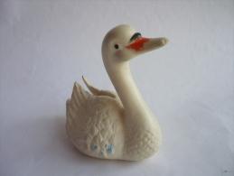 POUET CYGNE BLANC 1970's  - DELACOSTE - Birds - Ducks