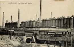 54 HOMECOURT - Les Usines De La Marine - Animée - Hauts-Fourneaux, Voie Ferrée, Train, Wagons - Homecourt
