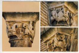 ESTELLA - Navarra, Capitel Lucha Ore Roldán Con Ferragut - Navarra (Pamplona)