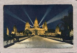 41575   Cambogia,  Angkor-Vat -  Vue  De  Nuit,  NV(scritta) - Cambogia
