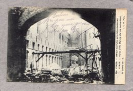 41586      Belgio,   Ypres -  Interieur  Des  Halles  Apres  Bombardement,  NV(scritta) - Ieper
