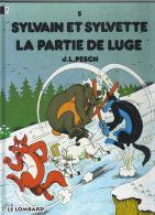 """Séribis N° 5 """"La Partie De Luge"""" - Sylvain Et Sylvette"""