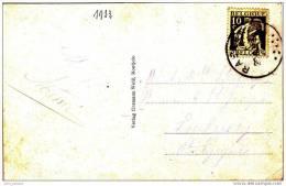 8] Carte Postale Postcard Belgique Belgium - Timbres
