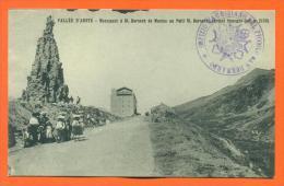 "Italie - Vallee Aoste  ""  Monument A St Bernard De Menton Au Petit St Bernard...  "" - Unclassified"