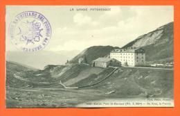 Italie - Col Du Petit Saint Bernard - Au Fond La France - Italy