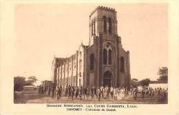 MISSIONS AFRICAINES LYON (mission)  DAHOMEY Cathédrale De Ouidah (BENIN RELIGION) *PRIX FIXE - Dahomey