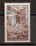 Luxemburg Luxembourg 1964, Nr. 695,  Inbetriebnahme Des Pumpspeicherwerkes Vianden, Postfrisch (mnh) - Nuovi
