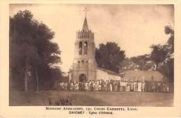 MISSIONS AFRICAINES LYON (mission)  DAHOMEY Eglise D' Athiémé (animation BENIN RELIGION) *PRIX FIXE - Dahomey