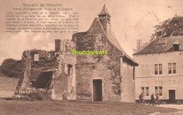 CPA  WATERLOO SOUVENIR DE WATERLOO FERME D'HOUGOUMONT RUINE DE LA CHAPELLE - Waterloo
