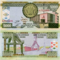 BURUNDI     5000 Francs       P-48[b]       1.9.2011     UNC - Burundi