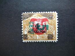 Lietuva Litauen Lituanie Litouwen Lithuania # 1922 * MH  # Mi. 166 - Lituanie