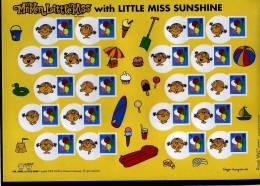 GREAT BRITAIN - 2009  LITTLE MISS SUNSHINE  GENERIC SMILERS SHEET   PERFECT CONDITION - Fogli Completi