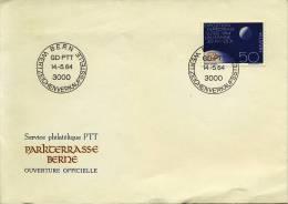 1 Poststuk Zwitserland / Poststück Schweiz 1964 - Switzerland