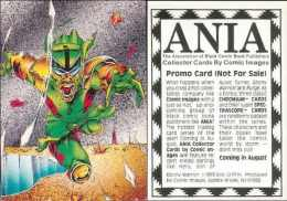 CARTE PROMO ANIA - COMIC IMAGE - 1993 - EBONY WARRIOR - Autres
