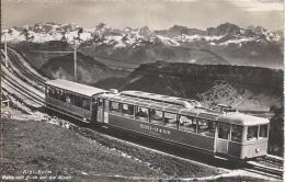 8076 - Rigi-Bahn  Vitznau Rigi-Kulm Bahn Blick Auf Der Alpen - LU Lucerne