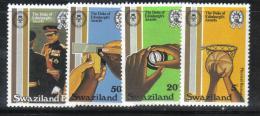 BIN190 - SWAZILAND 1981, Serie N. 381/384 *** MNH . - Swaziland (1968-...)
